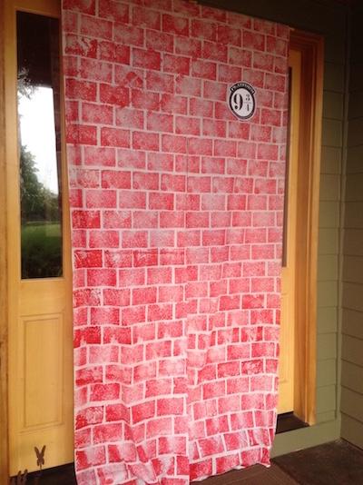 DIY Harry Potter Platform 9 3/4