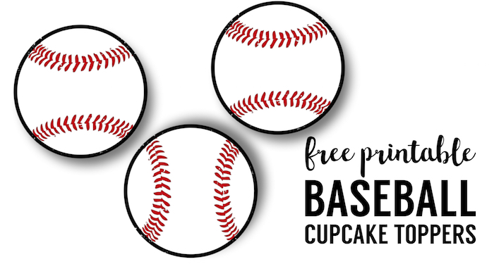 Free Baseball Printables {Baseball Party Decorations} - Paper Trail