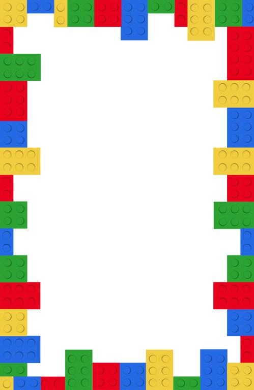 Medium Of Lego Birthday Invitations
