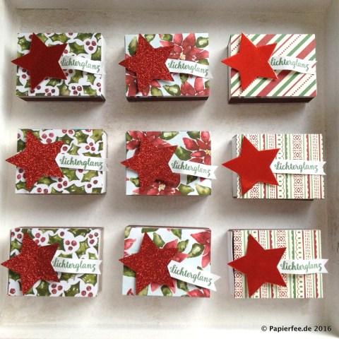 Stampin'Up!, Streichholzschachteln, Weihnachtsmarkt