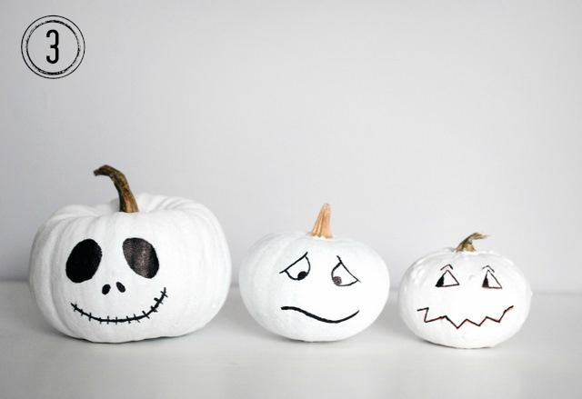 halloweenowa dynia, jak udekorować halloweenowy lampion z dyni