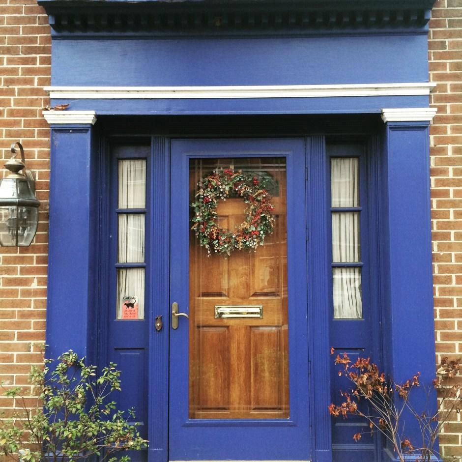 dekorowanie drzwi w usa