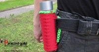 How to make a paracord water bottle holder - Paracord guild