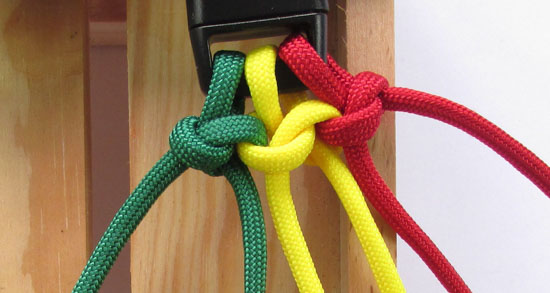 How To Make A Snake Knot Paracord Bracelet With Buckle