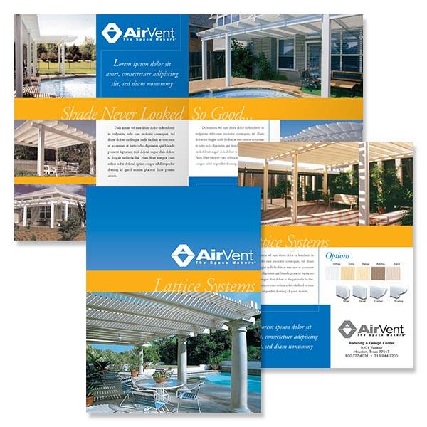 Residential Construction Brochure, Brochures, Business Brochures