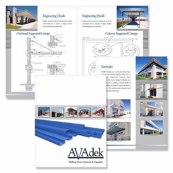 Commercial Construction Brochure, Brochures, Business Brochures