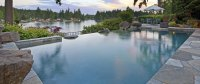 How Does an Infinity Pool Work? - Paradise Pools