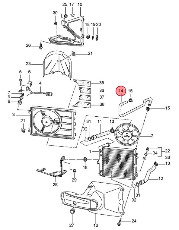 porsche wiring diagram for 911 carrera 2 and 4 1998