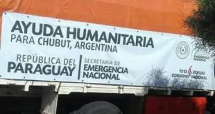 ayuda paraguay oara chubut