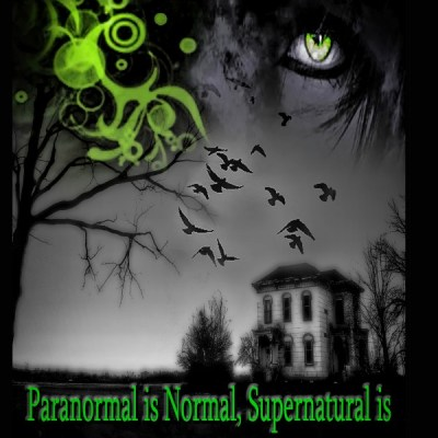 """Paranormal is Normal, Supernatural is Natural, Just Not Yet Understood"" Terms and Expressions used in researching the Paranormal and the Supernatural Cover"