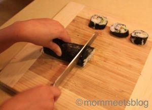 Kids Making Sushi