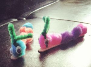 caterpillar diy project