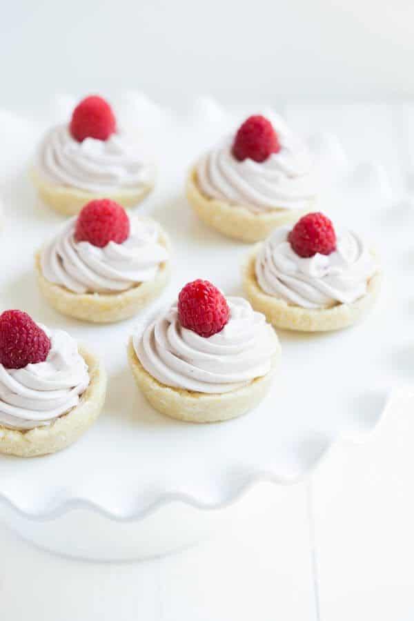 Raspberry Lemon Cookie Cups