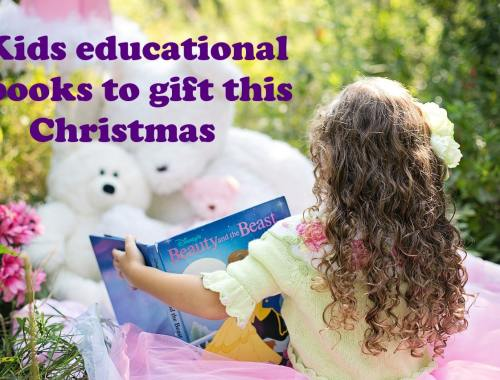 Kids educational books to gift this Christmas