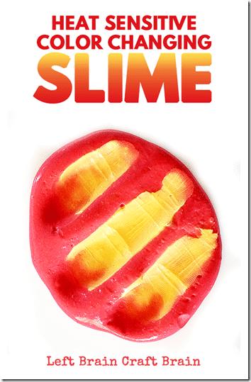 Heat Sensitive, Color Changing Slime