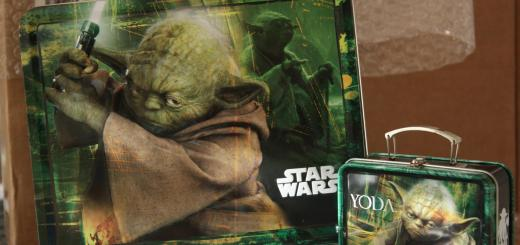 Lunchbox Yoda : la normale et la mini