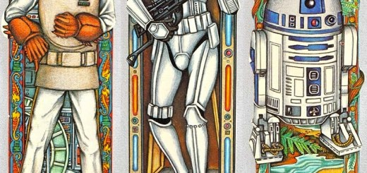Amiral Ackbar / Stormtrooper / R2D2