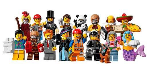 Figurines Lego Série 12
