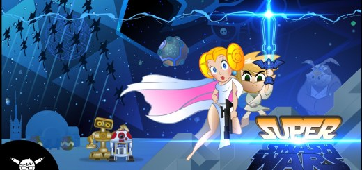 Super Smash Wars : le croisement entre Star Wars et l'univers Nintendo