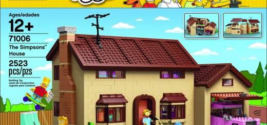 La Maison des Simpsons - Lego
