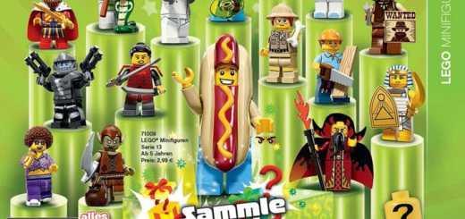 Lego Figurines série 13