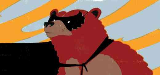 Animaux Super-Héros - Ours Kodiak