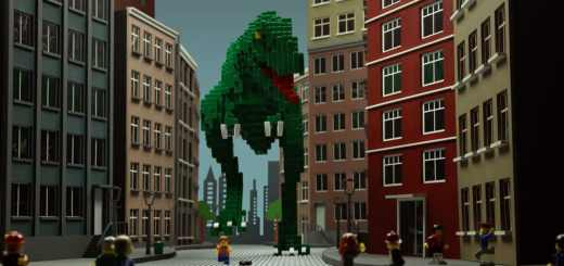 « Lego_Adventure in the City », un court-métrage à base de Lego