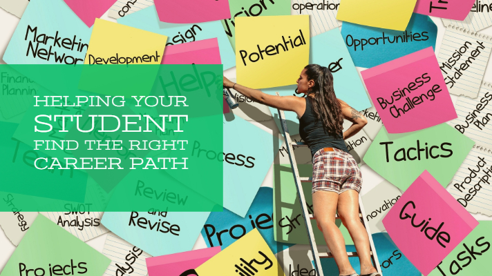 Helping Your Student Find the Right Career Path - Parenting for College