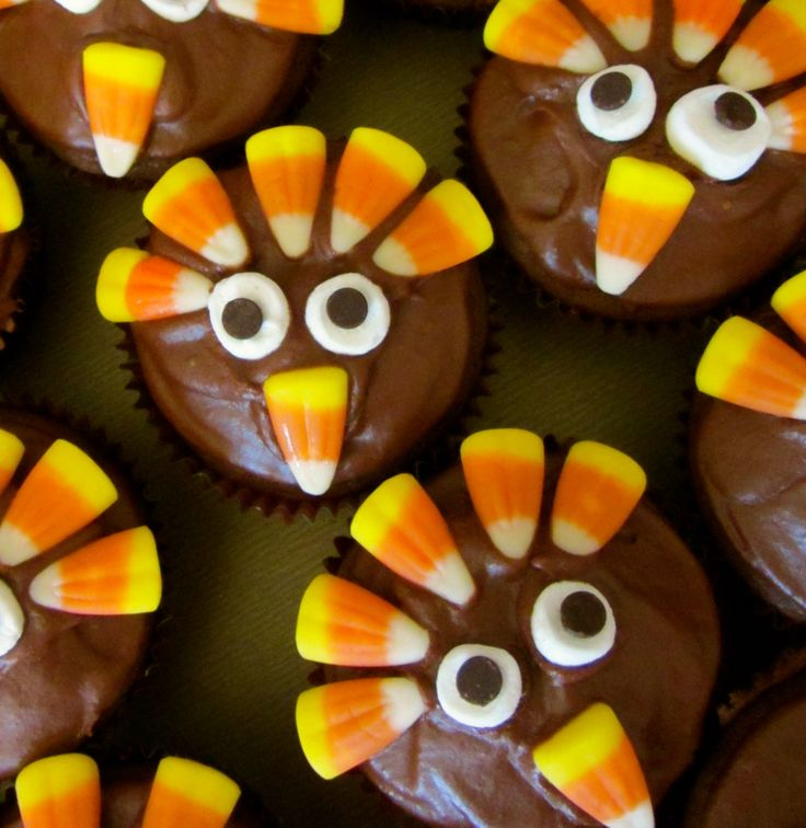 Cute Cupcake Wallpaper How To Make Turkey Cupcakes Thanksgiving Recipe And Craft