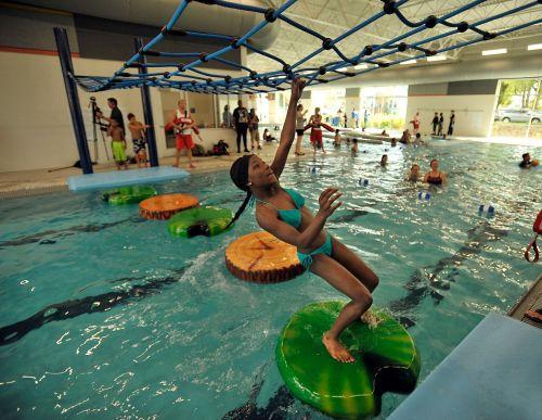 Medium Of Swimming Pool Slides