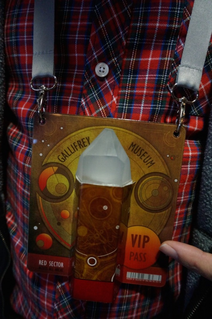 Gallifrey Museum VIP pass Dr Who Experience