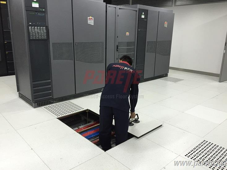 Parete Raised Access Floor System Server Room Access Floor