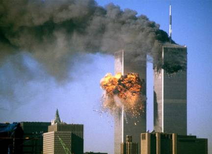 Image result for twin towers falling