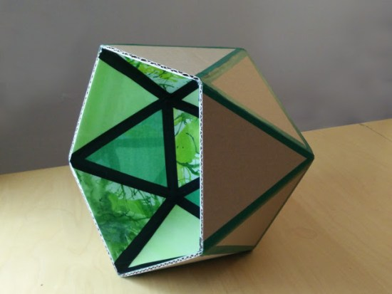 The finished geometric form