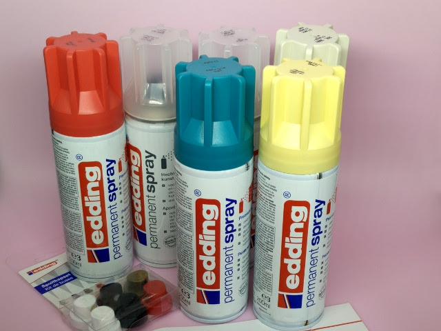 Peintures en spray Edding