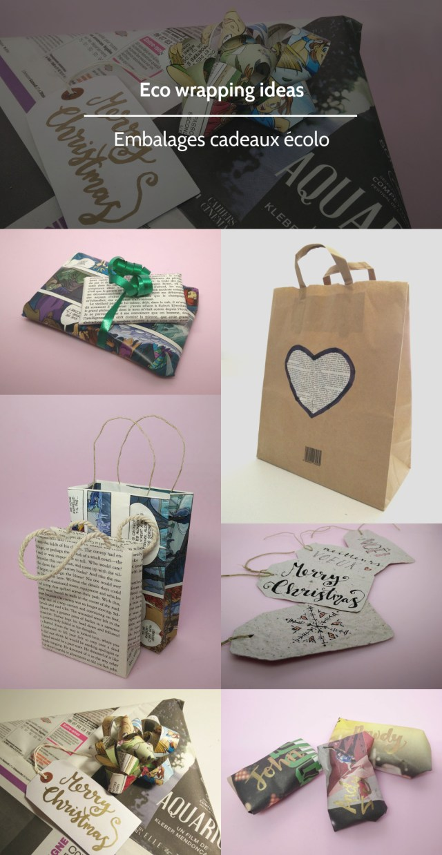 Eco wrapping ideas