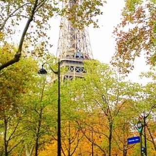 Eiffel Tower fall