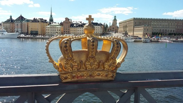 pont Skeppsholmen couronne