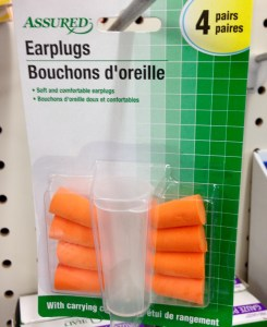 Dollar Store Earplugs