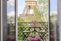 Paris Apartments Rentals with Eiffel Tower Views
