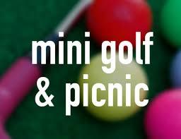 mini golf and picnic