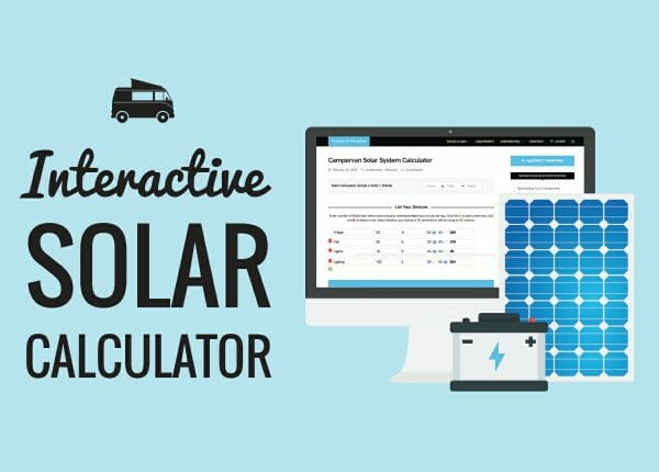 Calculating How Much Electricity You Need To Live In A Van (Beginner)