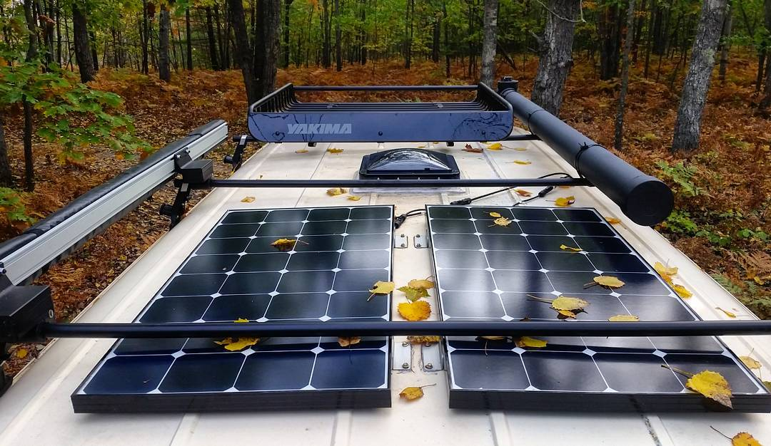 Best Solar Panels For RV Or Camper Van Comparison and Buyer Guide