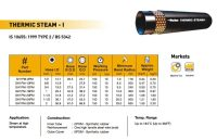 Steam hose meets IS 10655:1999 type 2 Series  SH1PM ...
