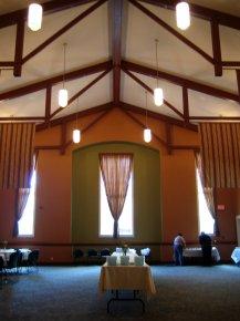 modern church great hall