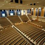 Modern church auditorium
