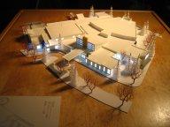 contemporary church design model