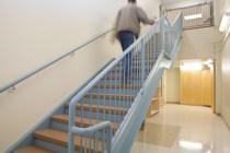 Trinity, new stairway