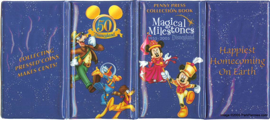 Disney Stretched Pressed Penny Collector Books