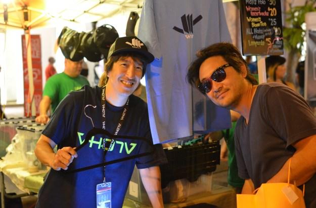 Rick Nakama and VH07V